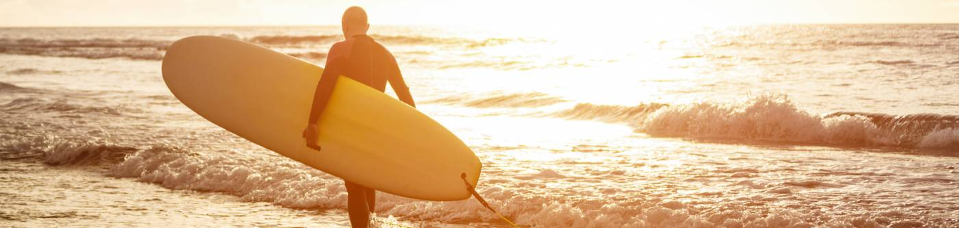 Oceanside Surfer Image